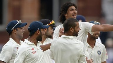 Ishant Sharma: Another English victim falls to the paceman