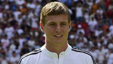 Toni Kroos: Joined Real Madrid after the World Cup