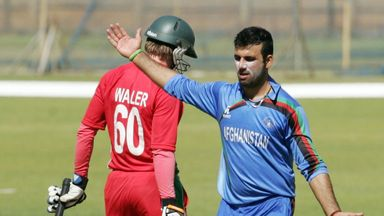 Dawlat Zadran: Saw Afghanistan home with two balls to spare