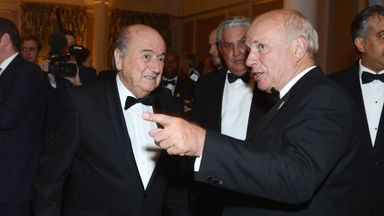 FIFA's Sepp Blatter and FA's Greg Dyke: Much to discuss at an event in 2013