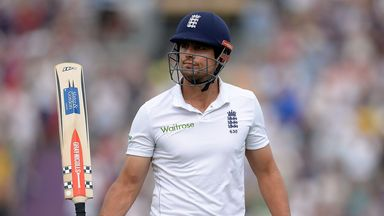 Alastair Cook: Took advantage of early fortune to make a gritty 95