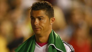Cristiano Ronaldo: Did not play in Dallas