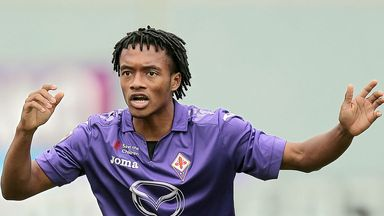 Juan Cuadrado: Prepared to spend another year in Florence
