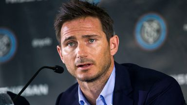 Frank Lampard: Must wait for competitive match for New York
