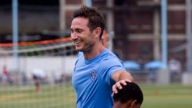 Frank Lampard: Tipped to play regularly for City