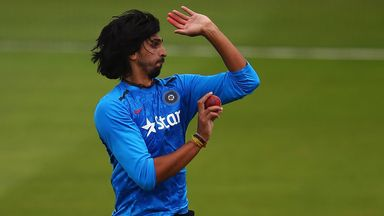 Ishant Sharma, training for India