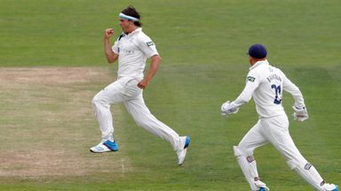 Jack Brooks: Yorkshire seamer had figures of 3-30 from 15 overs on final day
