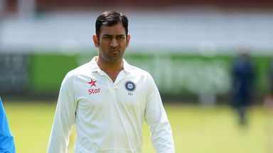 MS Dhoni: Less than impressed with batting display