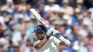 Murali Vijay. India v England, first Test, Trent Bridge. July 9 2014.