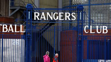 Rangers entered administration in February 2012.