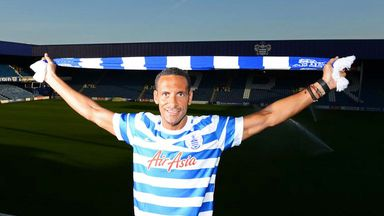 Rio Ferdinand: Defender has signed a one-year contract at QPR