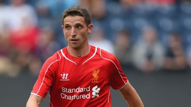 Joe Allen: Relishing the competition for places at Liverpool