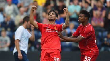 Suso: Hoping to play his way into Brendan Rodgers plans