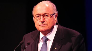 Sepp Blatter: FIFA president met this week with the Emir of Qatar