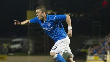 Tam Scobbie: St Johnstone defender has signed new deal