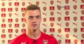 Chambers' delight at Arsenal move