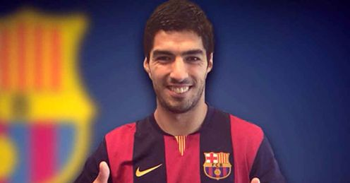 Luis Suarez: Part of Barcelona's star-studded forward line-up alongside Lionel Messi and Neymar