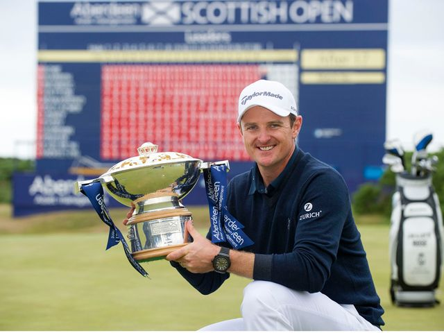 Justin Rose: Claimed victory at the Scottish Open
