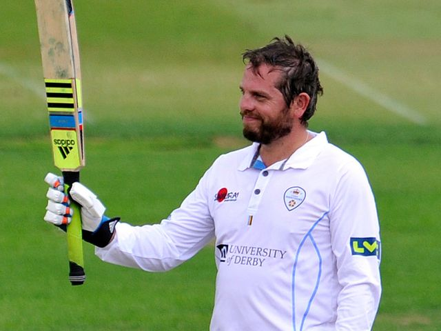 Wes Durston: Hit the winning runs for Derbyshire
