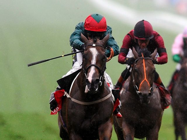 Hartnell (left): Made all to win the opening race of the July Festival