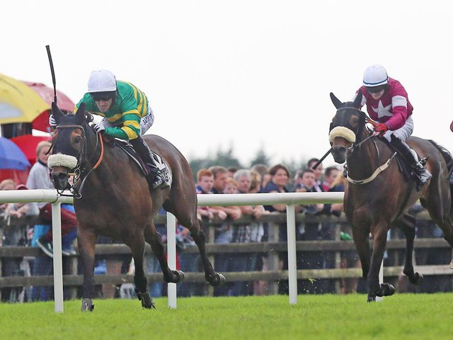 Thomas Edison and AP McCoy assert in the Galway Hurdle