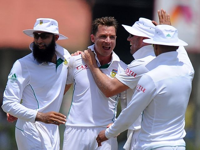 Dale Steyn: In the wickets again for South Africa