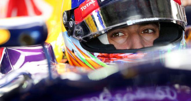 Daniel Ricciardo: Third fastest in Friday practice
