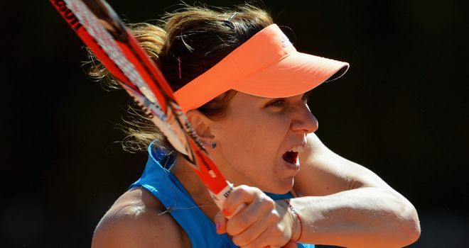 Simona Halep: Moving on in home tournament