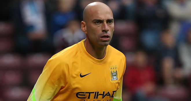 Willy Caballero: Will fight Joe Hart for the number one spot
