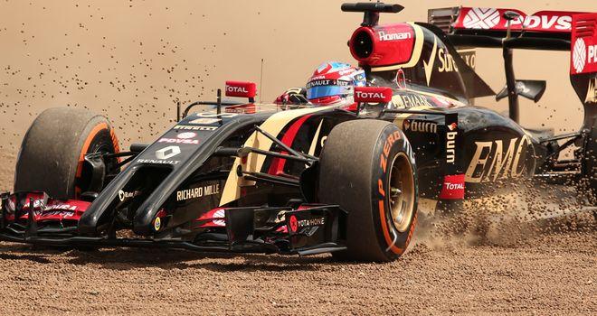 Romain Grosjean: Difficult times at Lotus