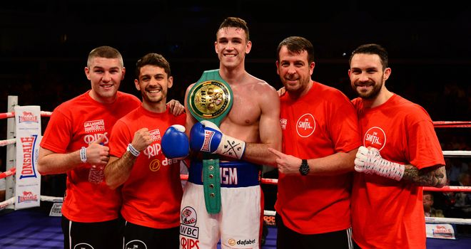 Callum Smith: Joe Gallagher is looking forward to his American debut
