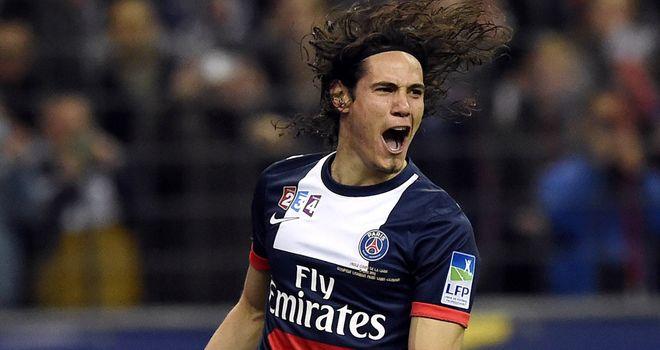 Edinson Cavani: Happy to stay at PSG