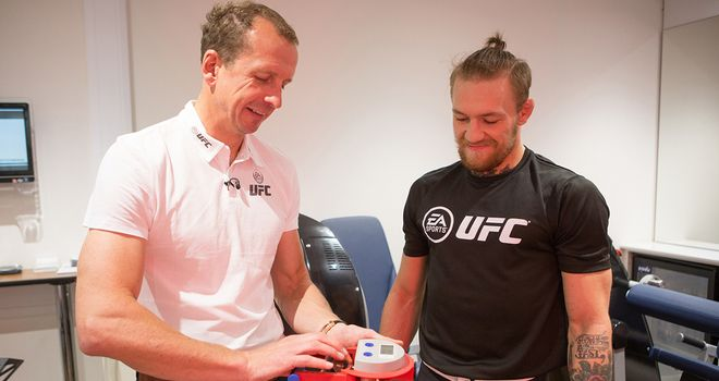 Conor McGregor worked with Professor Greg Whyte as a part of the research