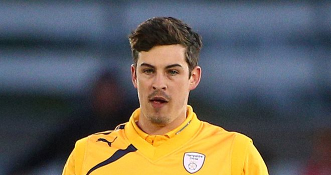 Chris Wood: Hampshire bowler commits to county
