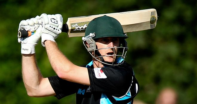 Daryl Mitchell: His 88 runs helped Worcestershire to a record-breaking win for the county