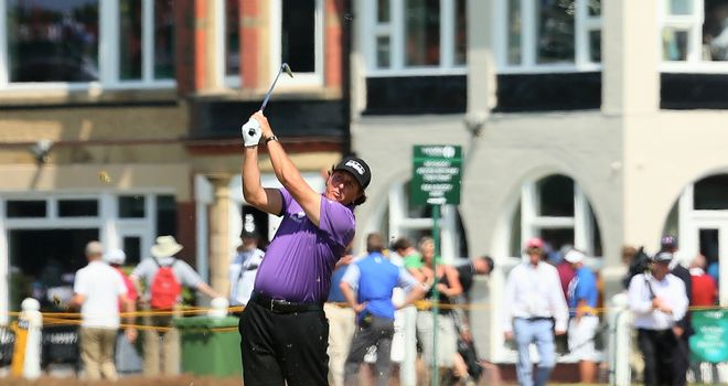 Phil Mickelson: Feeling positive