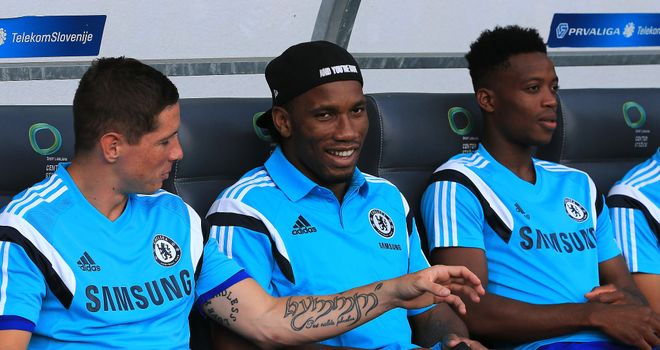 Didier Drogba: Welcomed back to Chelsea by Jose Mourinho