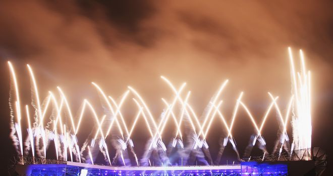Commonwealth Games: Opening ceremony at Celtic Park, one of many venues already in place in Glasgow