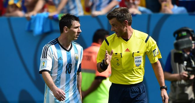Nicola Rizzoli: Italian referee to take charge of World Cup final