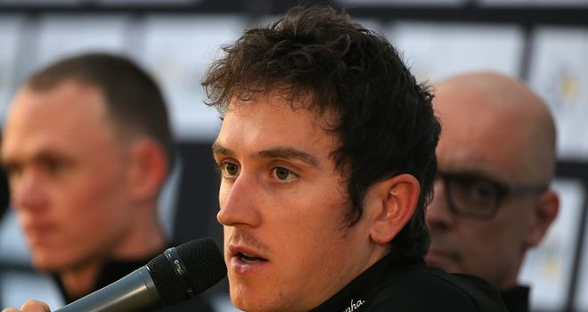 Geraint Thomas has been with Team Sky since 2010