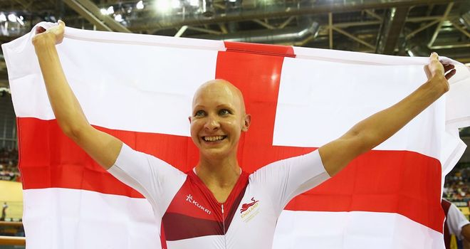 Joanna Rowsell claimed the Commonwealth women's 3,000m individual pursuit title to add to the world crown she won in February