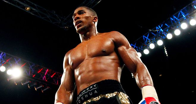 Anthony Joshua: Will have first title fight in October