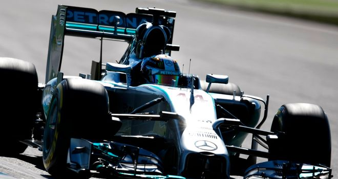 Lewis Hamilton: Four straight weekends at the top of the P2 timesheet