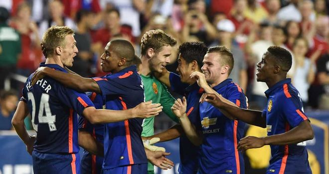 Manchester United: Celebrate their penalties success