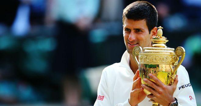 Novak Djokovic: Won his second Wimbledon title this summer