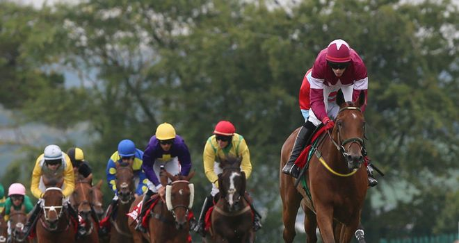 Road to Riches on his way to Galway Plate glory under Shane Shortall