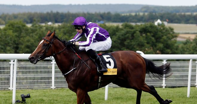 Highland Reel, ridden by Joseph O'Brien: Landed the odds in great style