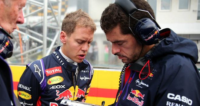 Horner: Vettel down on luck