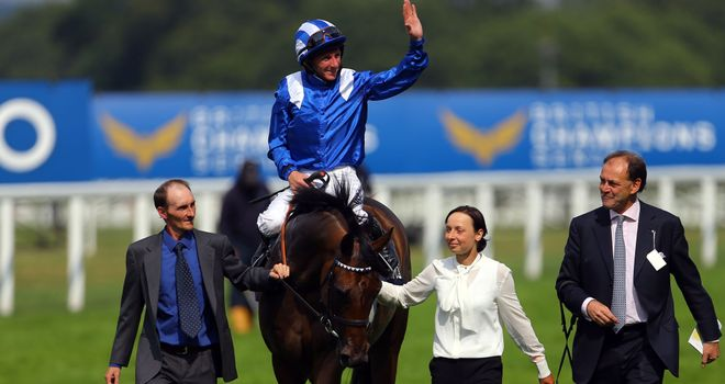 Taghrooda is on track for the Yorkshire Oaks