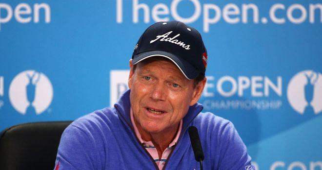 Tom Watson will be keeping an eye on Tiger Woods at Hoylake this week